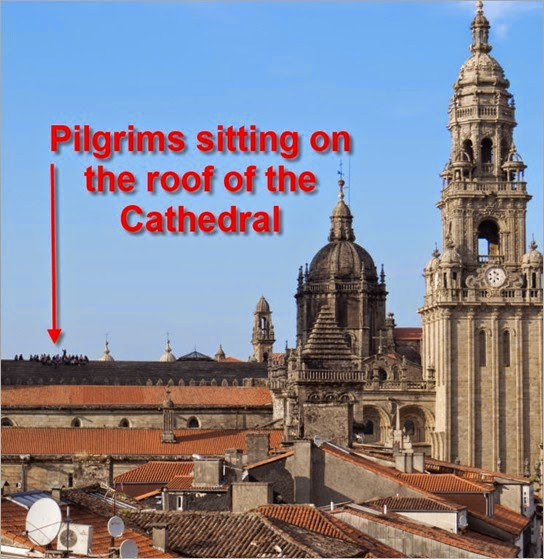 Pilgrims on Roof