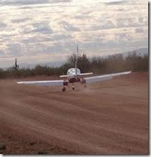 Eddie landing