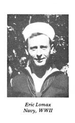 Eric Lomax US Navy WWIINEW