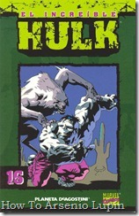 P00016 - Coleccionable Hulk #16 (de 50)