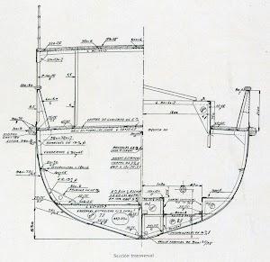 Sección transversal del EDUARDO BENOT. Planos de la revista INGENIERIA NAVAL. Diciembre de 1930.jpg