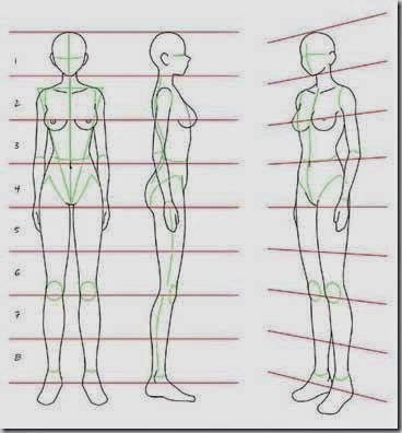 How to Draw For Beginners Step by Step - woman figure