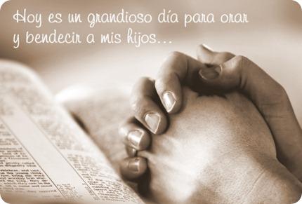 Orar y bendecir a los hijos