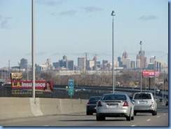 7560 Michigan, Detroit - I-75 North - Detroit skyline