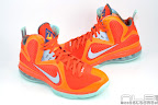 lebron9 allstar galaxy 21 web white Nike LeBron 9 All Star aka Galaxy Unreleased Sample