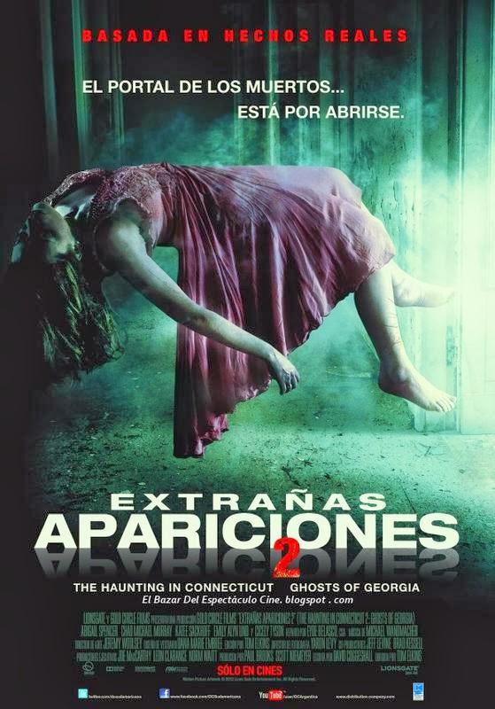 extra as apariciones 2 poster latino argentina fecha de