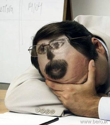 Como dormir no trabalho sem ser notado