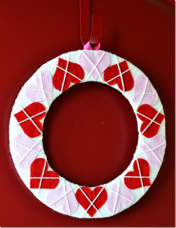 Valentine's Day Wreath 2