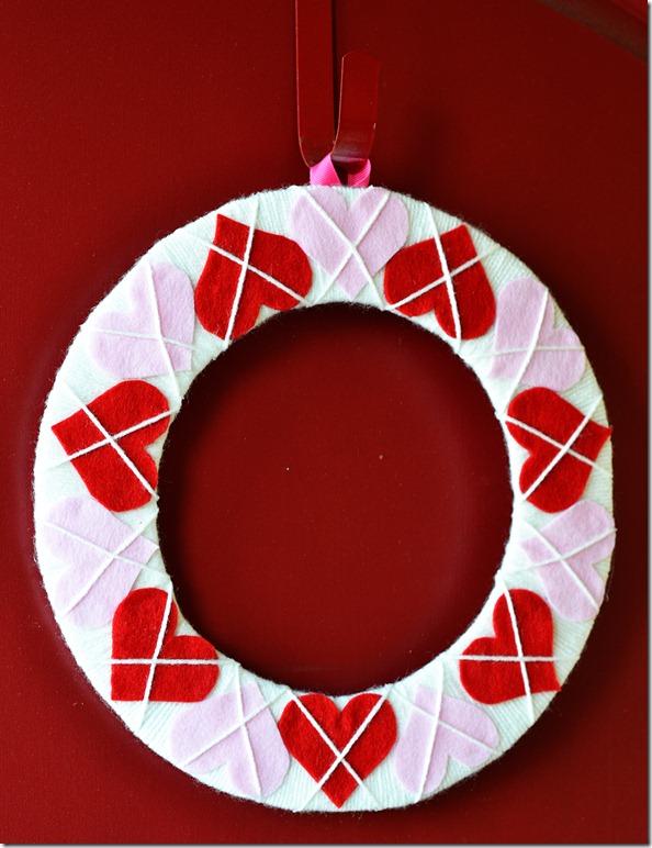 Valentine's Day Wreath 2