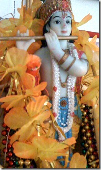Deity of Krishna