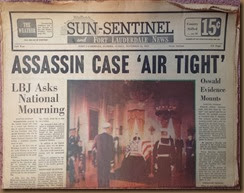 Kennedy_newspaper headline_24 Nov 1963