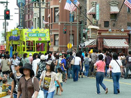 Imagini Japonia: prin Universal Studios Osaka