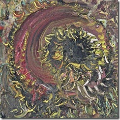 Schilderij Zonnebloem - 2003 - Marc Mulders