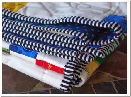 Nancy Drew quilt binding