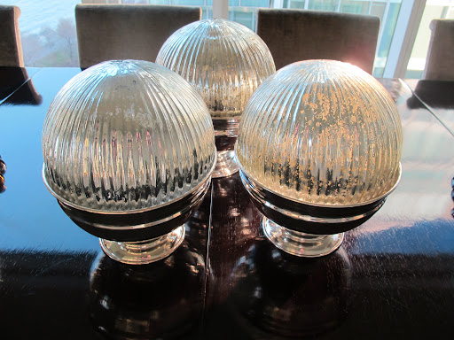 I bought these mercury-glass ball ornaments from Pottery Barn. Aren't they beautiful? http://www.potterybarn.com/products/oversized-mercury-ornaments/?pkey=choliday-mercury-shop