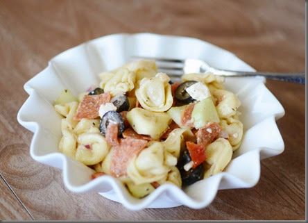 Pasta salad just sounds so good sometimes when it Greek Pasta Salad