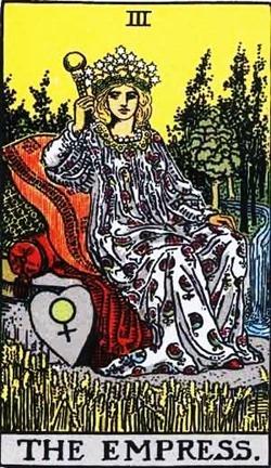 la-emperatriz-del-tarot-rider-waite
