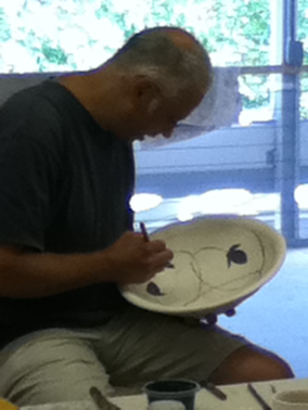 Michael Klein Decorates a Bowl