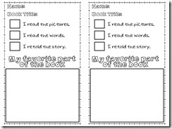 3 Ways to Read Graphic Organizer