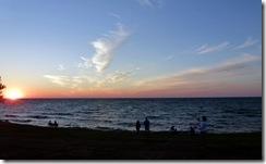 Sunset on Ontario