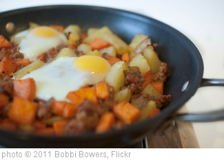 'Sweet and Spicy Hash with Baked Eggs' photo (c) 2011, Bobbi Bowers - license: http://creativecommons.org/licenses/by-nd/2.0/