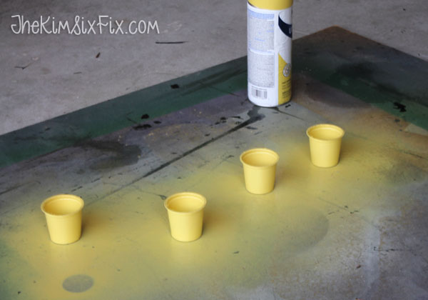 Spray painting Kcups