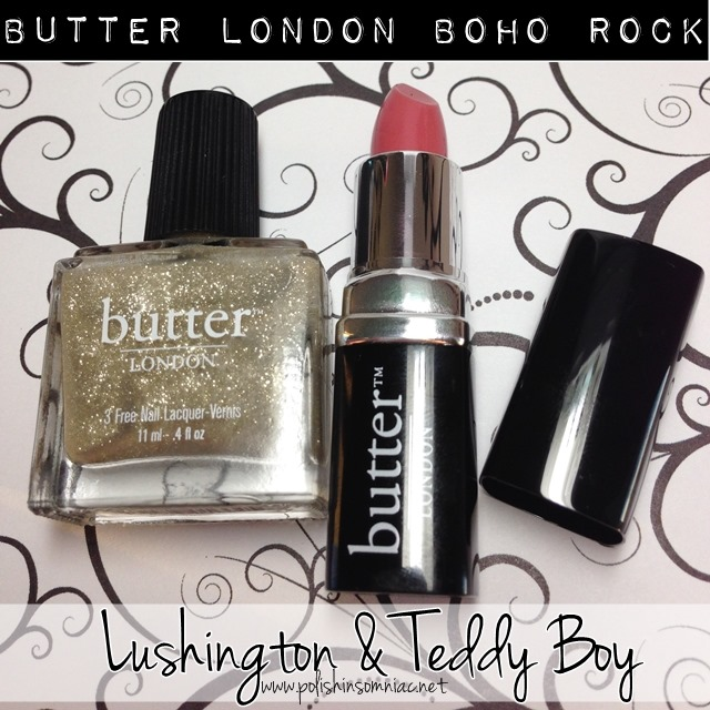 buttter LONDON Lushington and Teddy Boy from the Boho Rock Collection