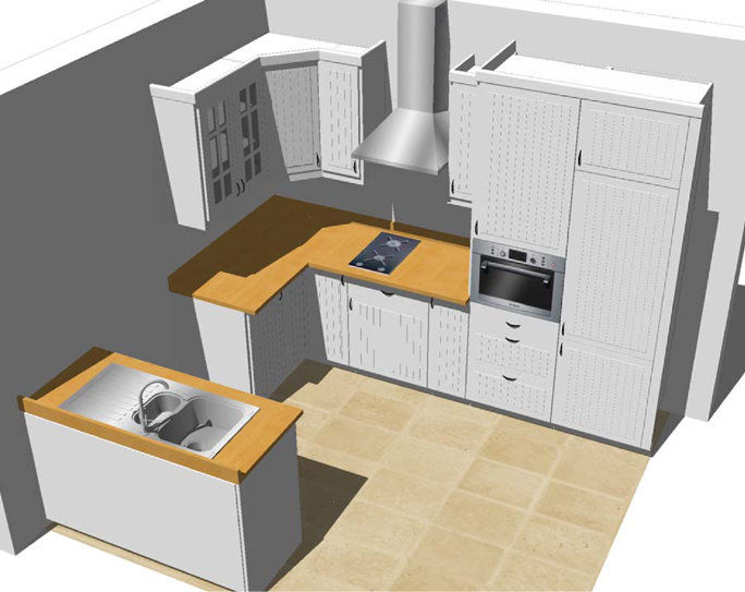 Incredible Free 3D Kitchen Design 684 x 543 · 58 kB · jpeg