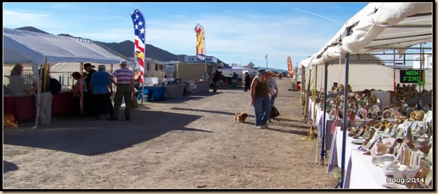 Quartzsite RV flea market