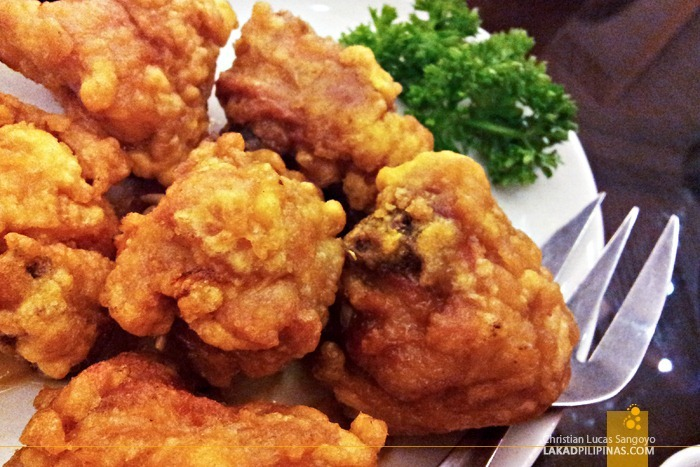 Buttered Chicken at President Tea House SM North Edsa