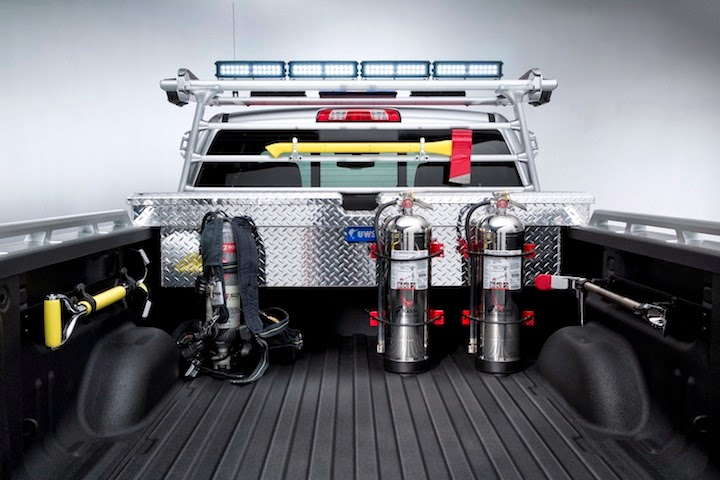 2013 SEMA Chevrolet Silverado VolFirefighter 006 Chevrolet Silverado Black Ops and Volunteer Firefighter Concepts
