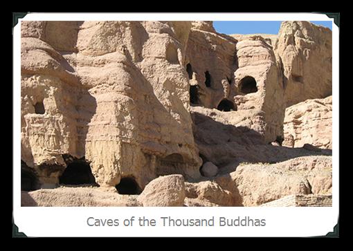 Silk road China Thousand Buddhas Cave