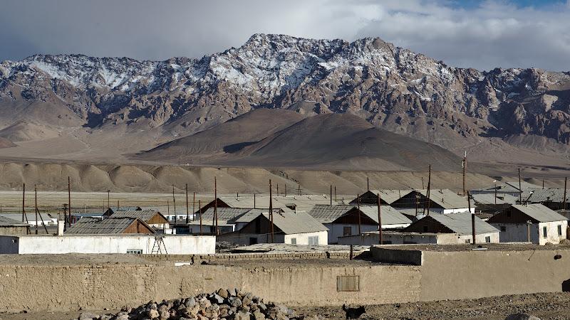 Murgab, singurul oras din Pamir.