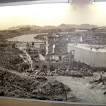 hiroshima after the nuclear bombing in Hiroshima, Hirosima (Hiroshima), Japan
