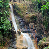 A Waterfall At Sulphur Springs - Castries, St. Lucia