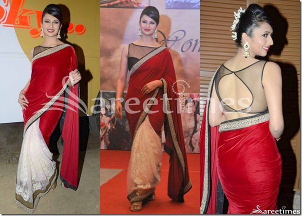 Red_White_Half_and_Half_Saree