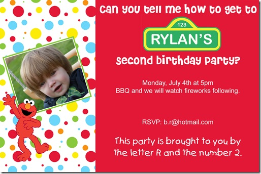 2nd bday invite copy