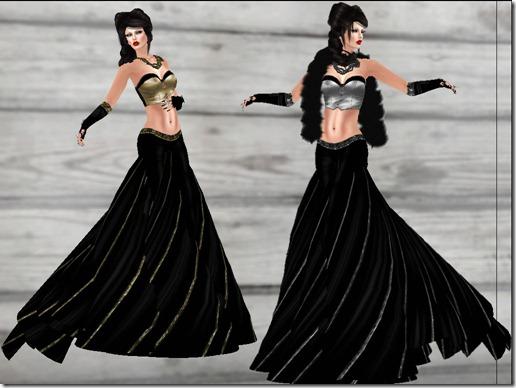 aDiva CoutureAllthat GlamourVelvetGown