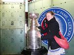 JB towering the Cup, Hockey Hall of Fame