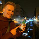 nastro azzurro beer in milan in Milan, Milano, Italy