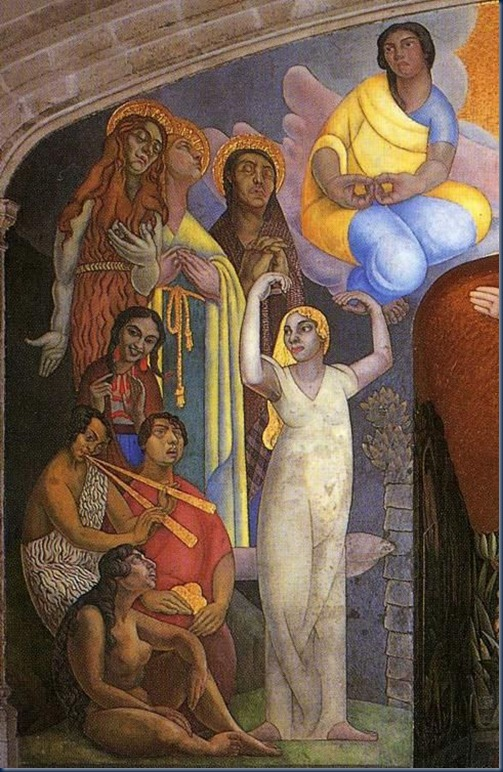 La creacion Diego Rivera