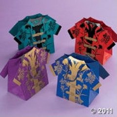Chinese Shirt Gift Bags