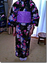 平池先生の浴衣レッスン (1)