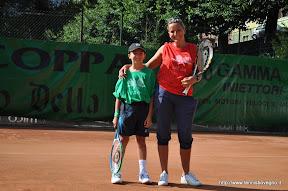 Davide con la mamma Monia