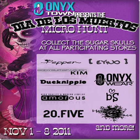 Muertos Hunt @ ONYX Town! 1st - 8th November 2011