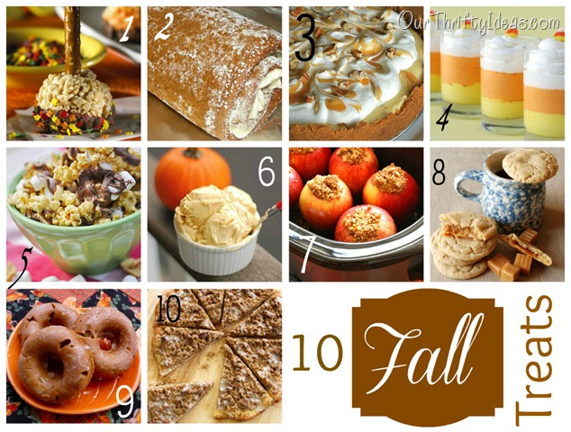10 fall treats
