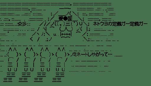 ネトウヨ ノミネートしやがって… (2012年流行語)