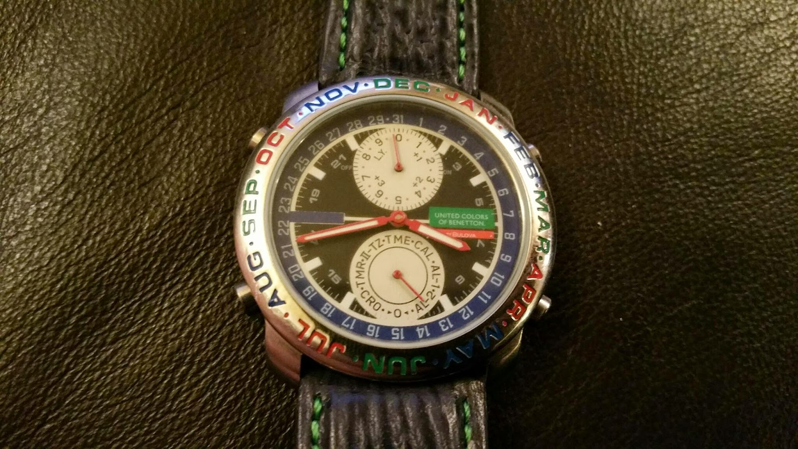 Which watch today benetton by bulova united chronos of chronos for Benetton watches
