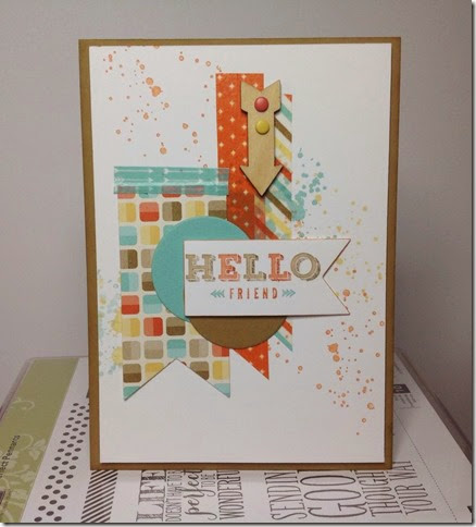 stampin up peachy keen