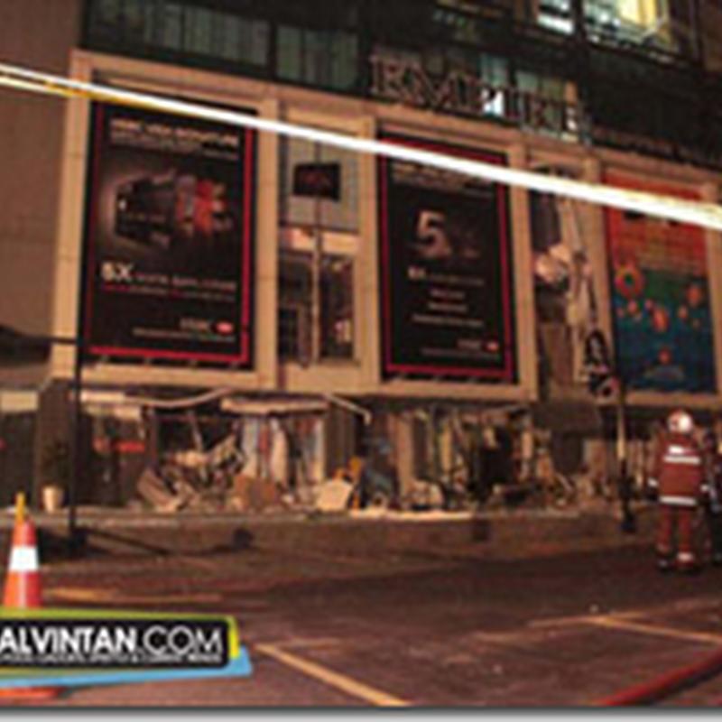 Berita Terkini : Letupan di pusat membeli-belah di Subang Jaya